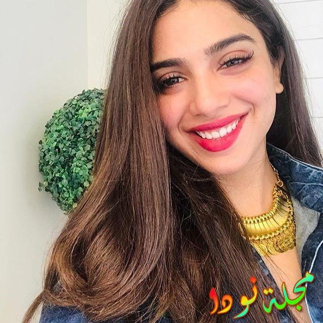 سونيا حسين عارضة الأزياء والممثلة التليفزيونية الباكستانية