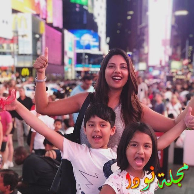 سونيتا مارشال وأولادها