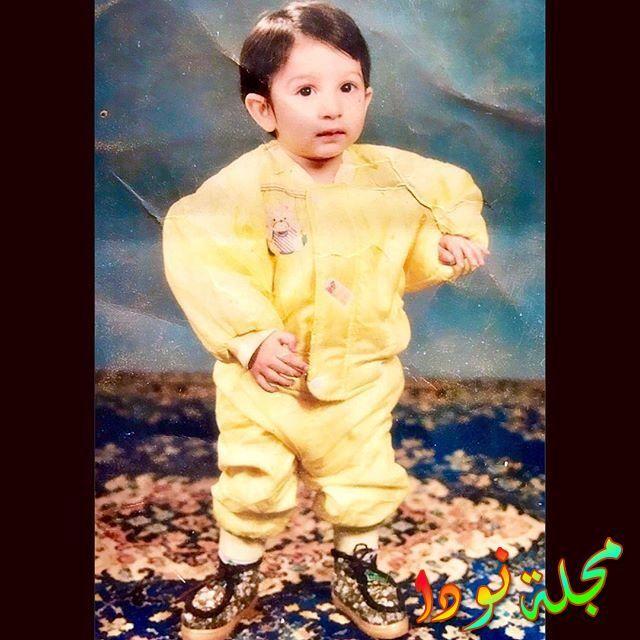 صورة مريم نفيس وهي طفلة