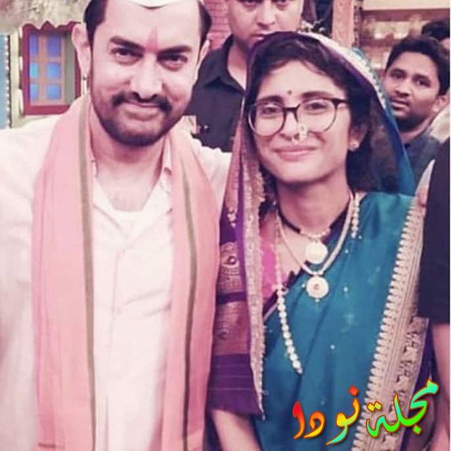 عامر خان وزوجته