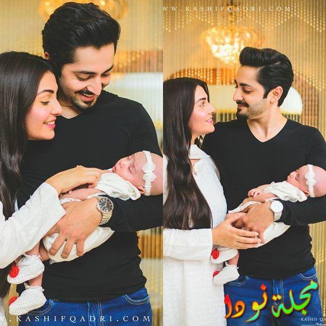 عايشة خان وزوجها وابنها