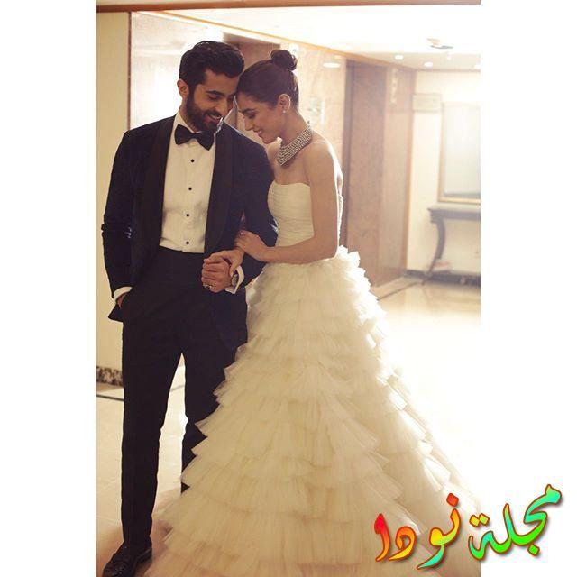 مايا علي وزوجها