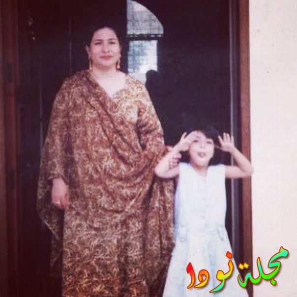 هميمة مالك وهي طفلة