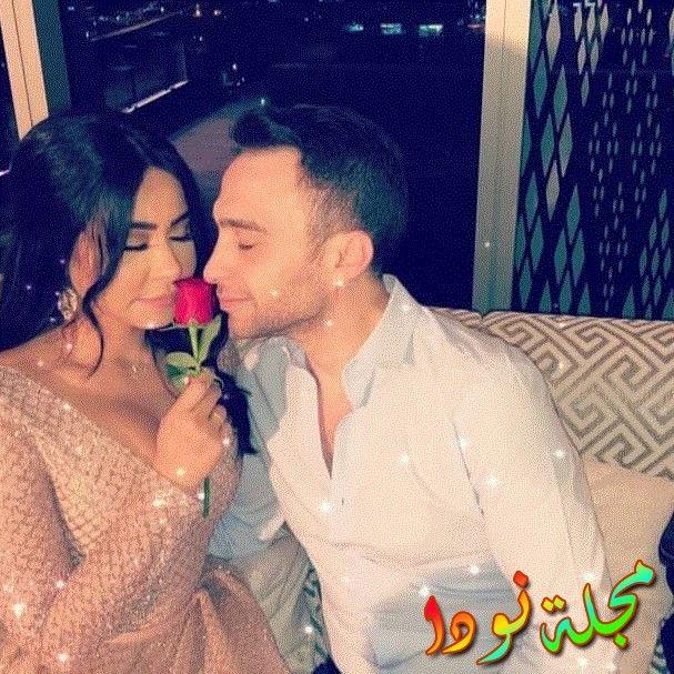 الرومانسية بين شيرين وحسام