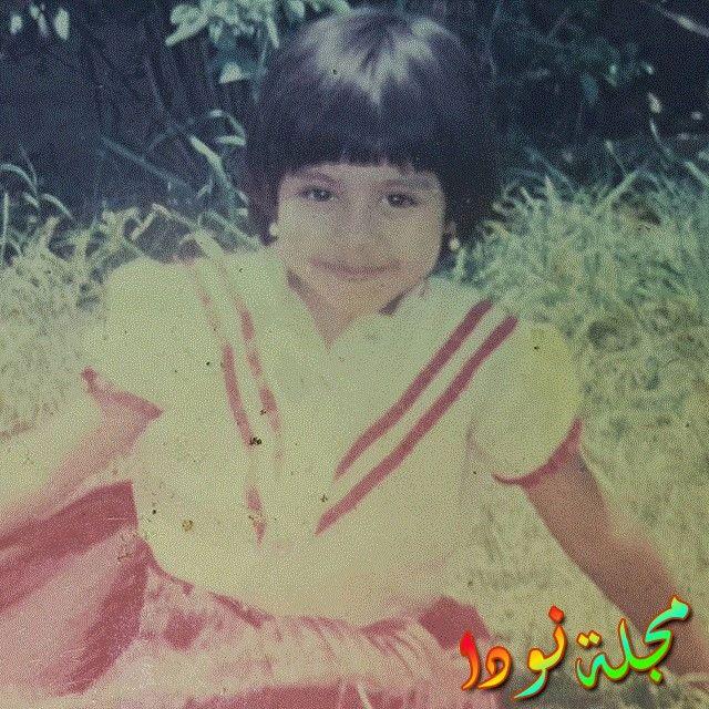 شيرين عبد الوهاب وهي صغيرة