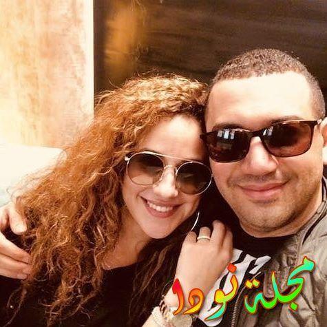 شيري عادل ومعز مسعود زوجها