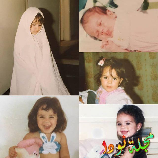 شيري عادل وهي طفلة مراحل مختلفة