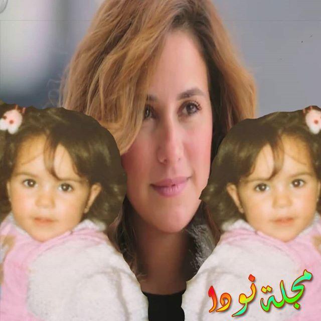 صورة توضح الفرق بين طفولة شيري عادل وبين النضج