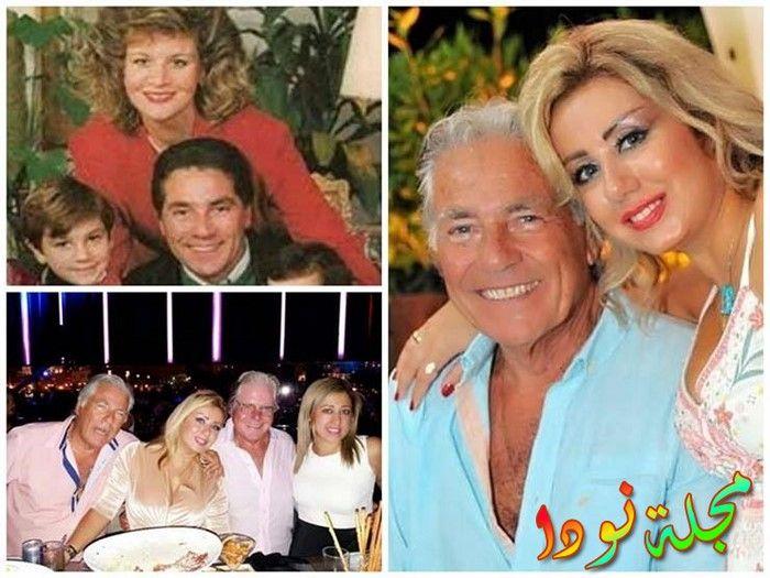 صور مجمعه له مع زوجاته