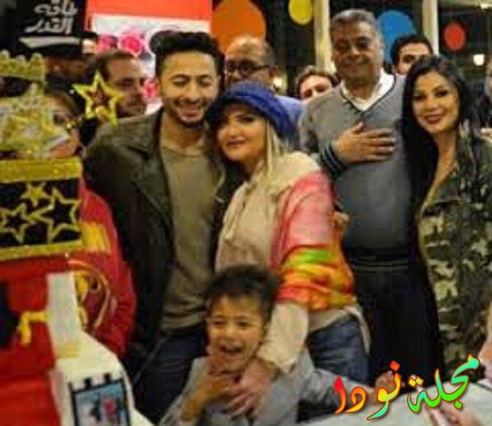 عائلة حمادة هلال زوجته واولاده