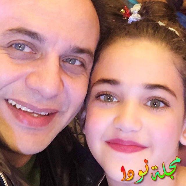 مصطفى قمر وابنته
