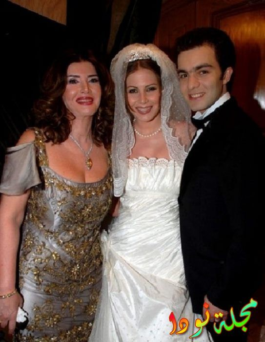 منة حسين فهمي وزوجها الأول شريف رمزي