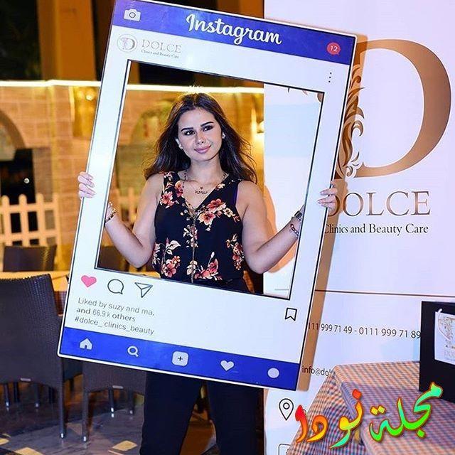 منة عرفة ووصول متابعيها على الفيس بوك لأكثر من 50 الف