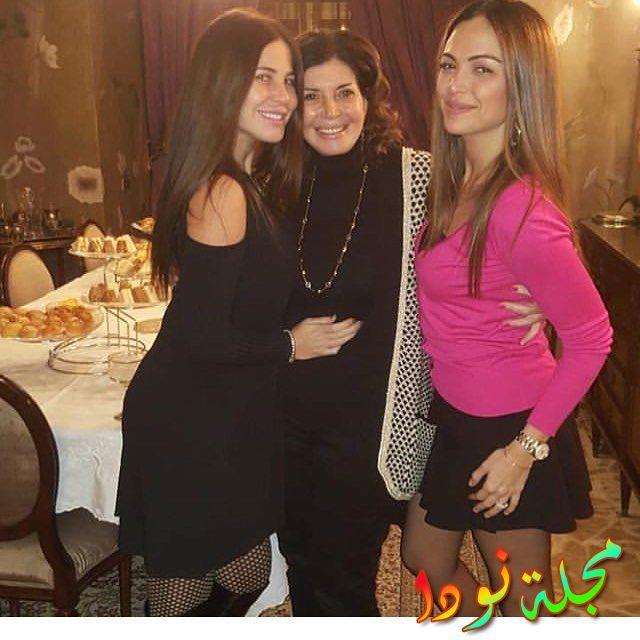 ميرفت أمينو ابنتها