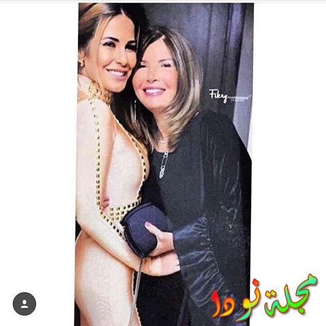 ميرفت أمين في حفل زفاف ابنتها للمرة الثالثة