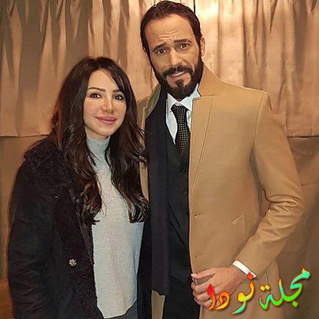 نشر زوجة يوسف الشريف صورة جديدة لهم بعا
