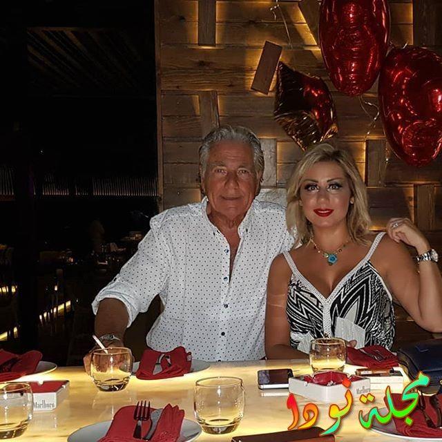 Mostafa Fahmi وزوجته فاتن