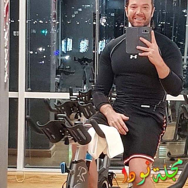 تامر شلتوت يمارس الرياضة يوميا