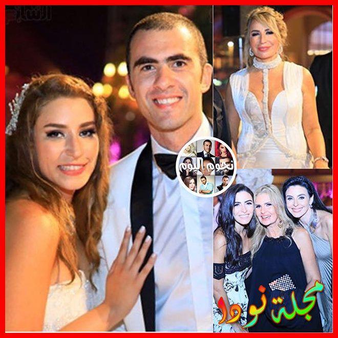 حفل زفاف ابنة ايناس الدغيدي