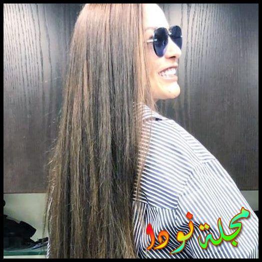 شريهان صاحبة الشعر الطويل