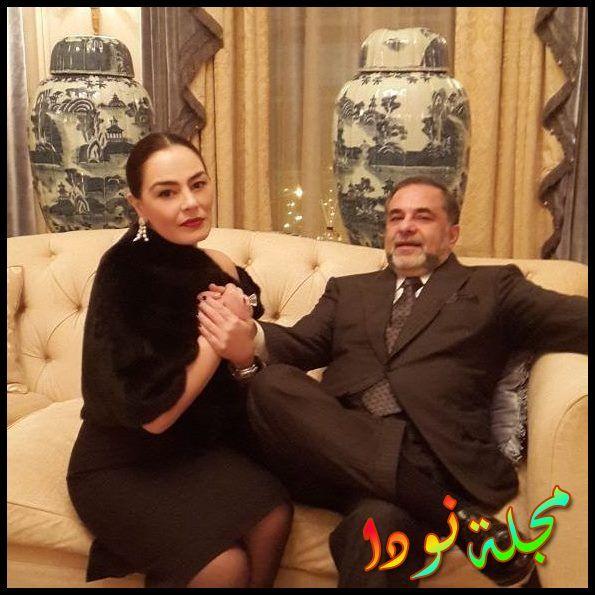 شريهان وزوجها علاء خواجة