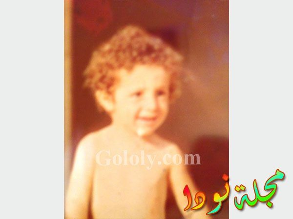 صورة شريف مدكور وهو صغير