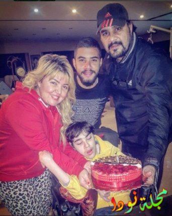 صورة عائلية مها أحمد وأولادها وزوجها