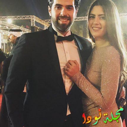 طارق الإبياري وزوجته