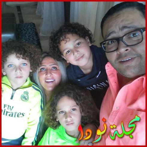 أحمد رزق وأبنائه
