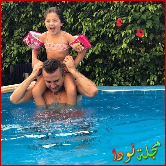 أحمد سعيد عبد الغني وابنته