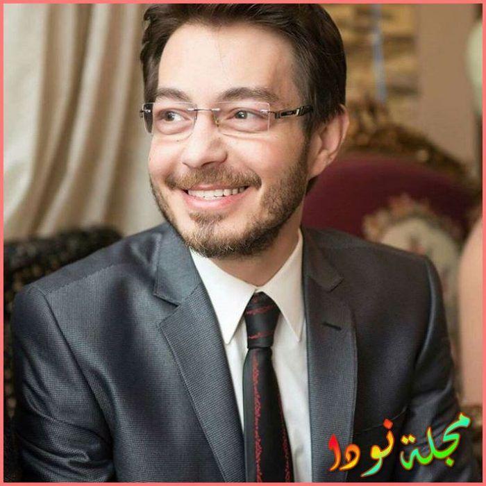 الفنان المصري أحمد زاهر