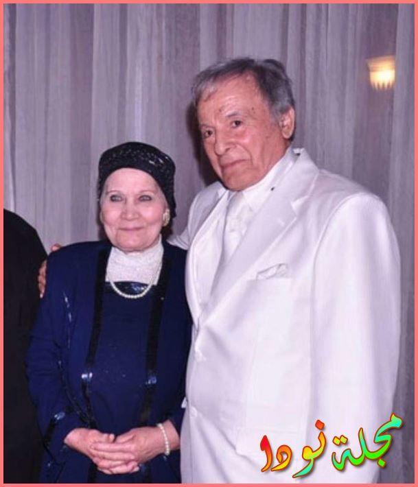 سعيد عبد الغني وزوجته