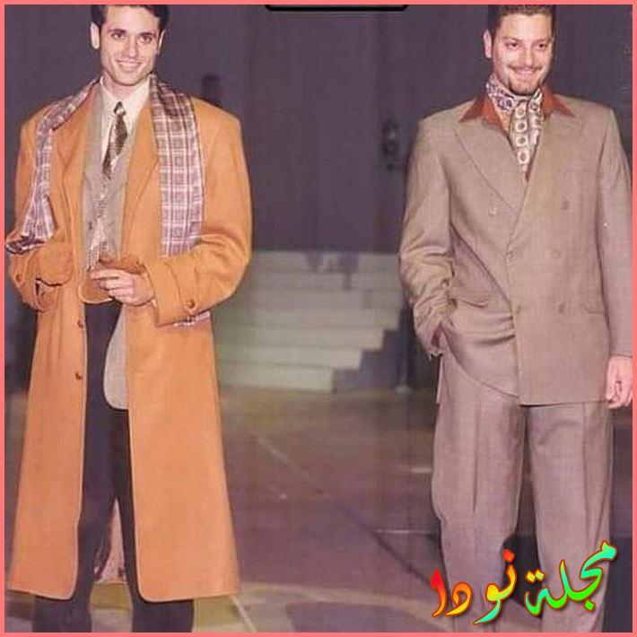 صورة قديمة لأحمد عز