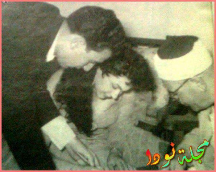 رشوان توفيق وزوجته في كتب كتابه