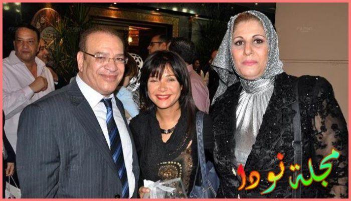 الفنان صلاح عبد الله وزوجته
