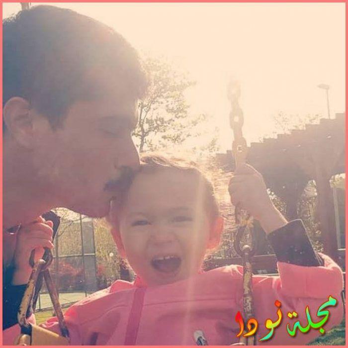 Ismail Hacıoğlu وابنته الصغيرة