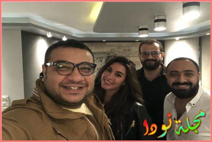 التحضيرات الأولية من أجل مسلسل ياسمين صبري