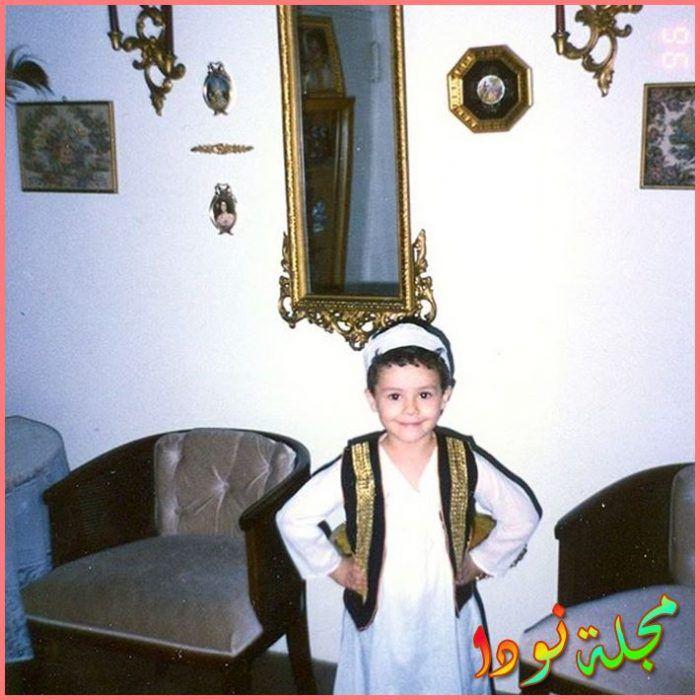 رامي يوسف وهو صغير