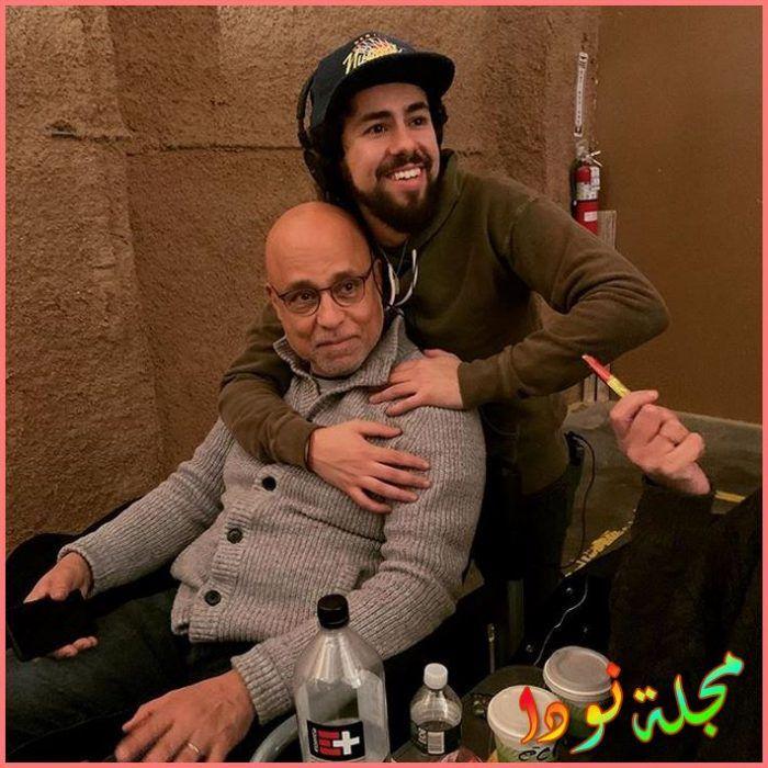 رامي يوسف ووالده