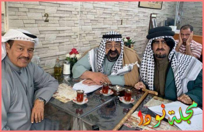الفنانين عبد الرحمن العقل وأحمد جوهر وخالد العجيري