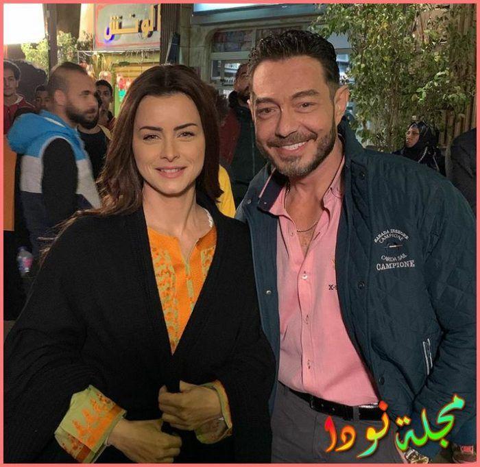 الفنان أحمد زاهر ونور
