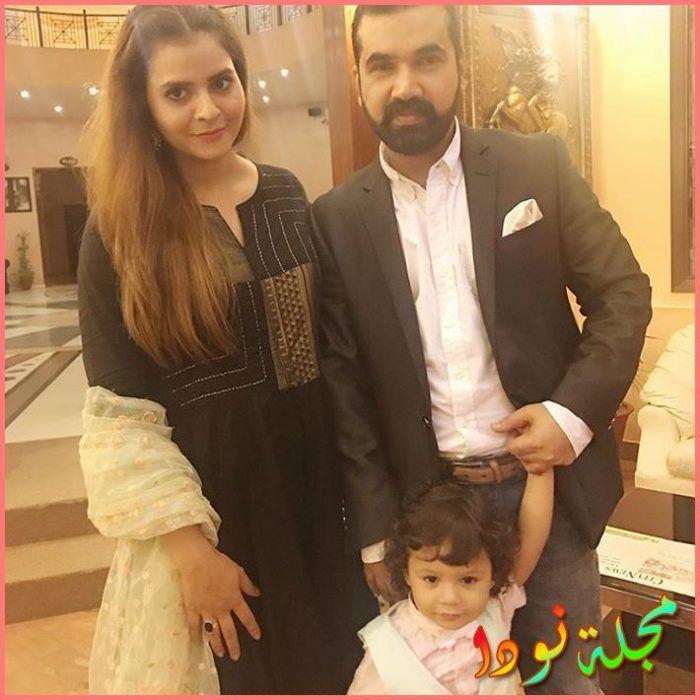 بينش شوهان وزوجها وابنها