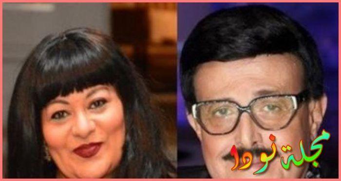 فريدة سيف النصر وسمير غانم
