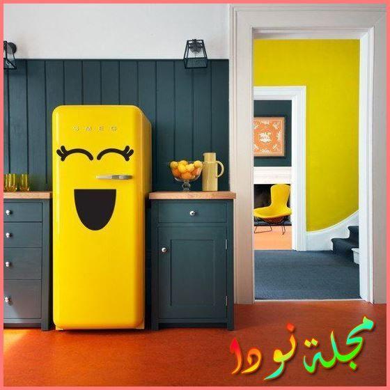 جددي مطبخك بالأصفر والكحلي