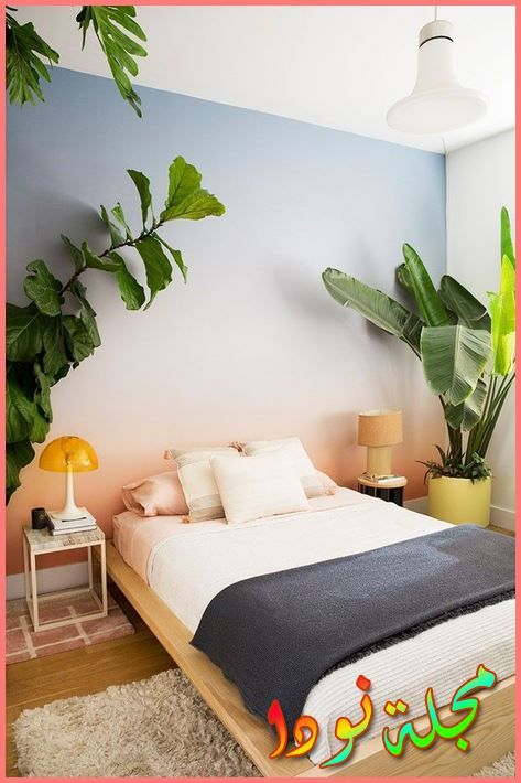 ديكورات شقق حديثة رسم غرف نوم