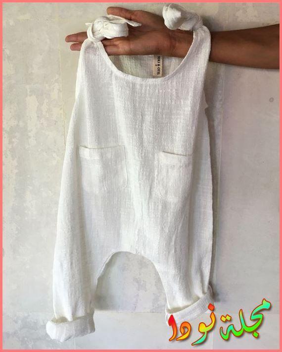 صور لأحدث ملابس أطفال بناتي حديث الولادة أبيض