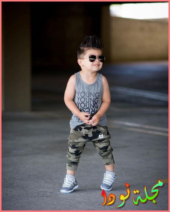 صور ممتعة أزياء أطفال أولاد 2020