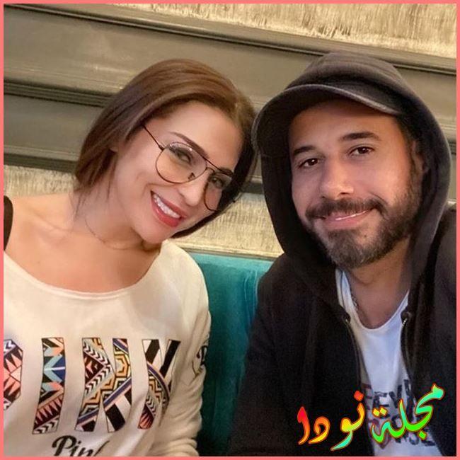 احمد السعدني ومي عز الدين
