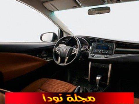 الصورة من الداخل للسيارة انوفا Std ديزل