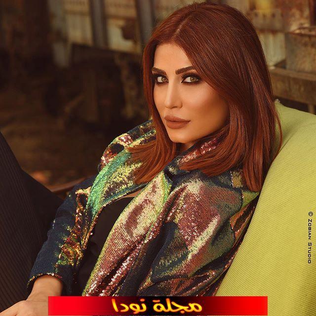 الممثلة هبة نور وزوجها وابنها